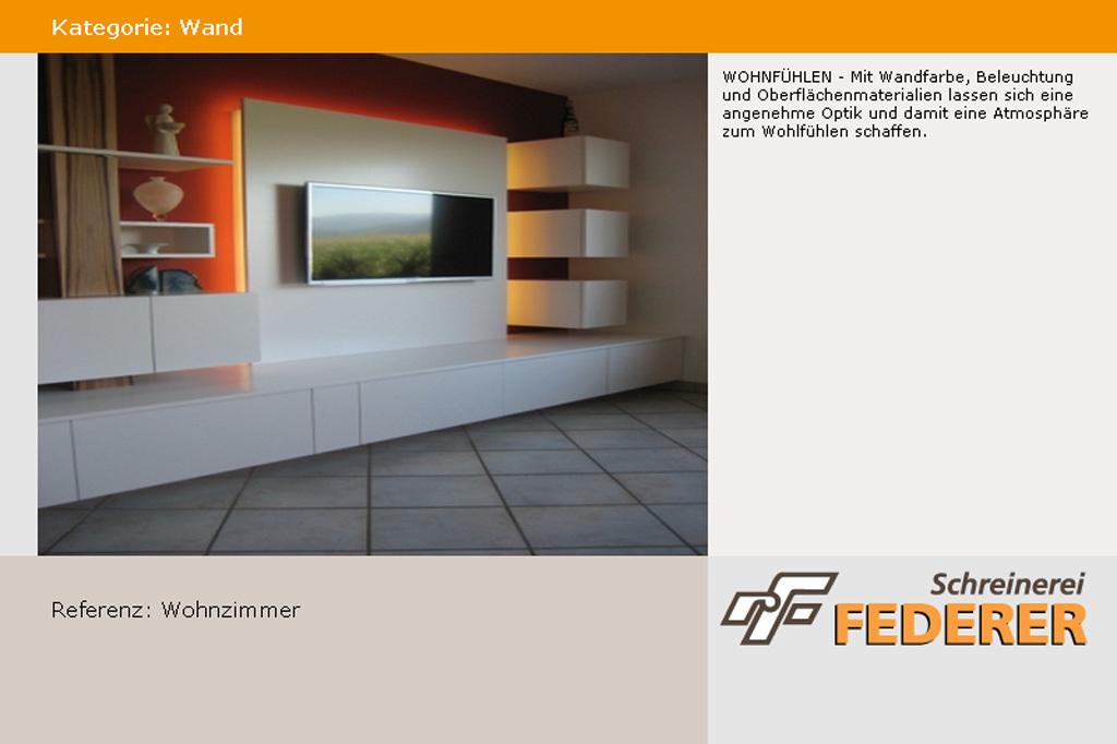 Wand: Wohnzimmer ...
